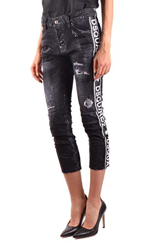 Noir Dsquared2 Femme Coton Jeans S75lb0081s30357900 EgpgqvH