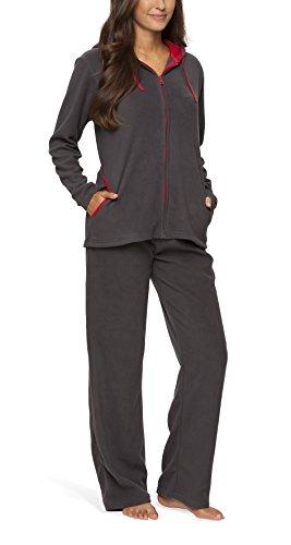 Fleece-Anzug für Damen - SLOUCHER, Farbe:anthrazit;Größe:48/50