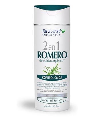 Organic rosemary shampoo & conditioner 14.2 fl. oz. | Shampoo y acondicionador orgánico de