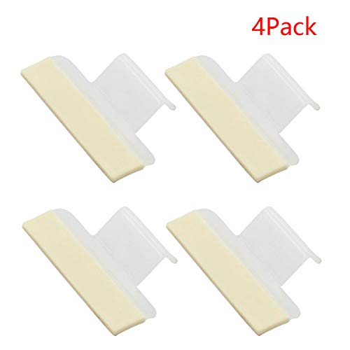 ApplianPar 4 Pack 154701001 Dishwasher Splash Shield Guard Seal Kit for Electrolux Frigidaire PS2203346 AP4338941 AH2203346