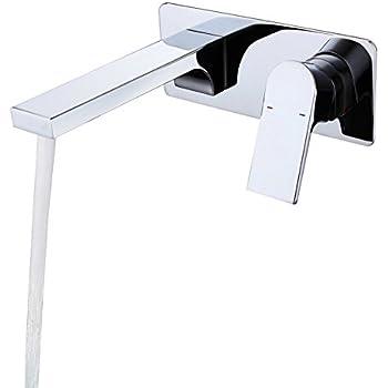 Lovedima Wall Mount Bathroom Sink Faucet With Single