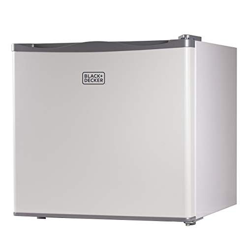 BLACK+DECKER BUFK12W Compact Upright Freezer Single Door, 1.2 Cubic Feet, White (Renewed)