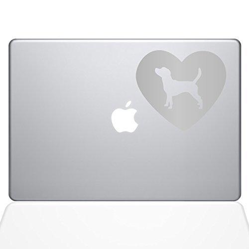 経典ブランド The Decal Decal Guru Heart Beagle Macbook Decal Vinyl (2016 Sticker 15 - 15 Macbook Pro (2016 & newer) - Silver (1331-MAC-15X-S) [並行輸入品] B0788HGYMN, アウトドア&輸入雑貨 レプマート:b8b84f4b --- a0267596.xsph.ru