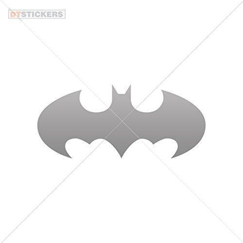 Decal Halloween Batman Car window jet ski (6 X 2,64 In. ) Gray -