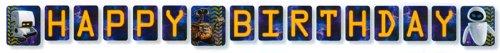 (Wall-E Birthday Banner)