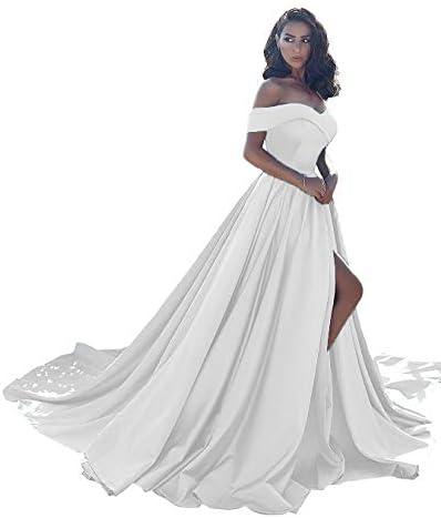 Dresses Shoulder Wedding Evening Formal