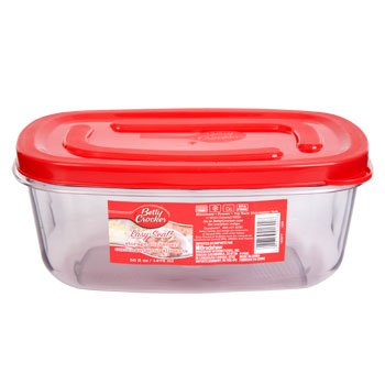 Reusable Food Containers   Betty Crocker Easy Seal Rectangular Storage  Containers, 50 Oz.