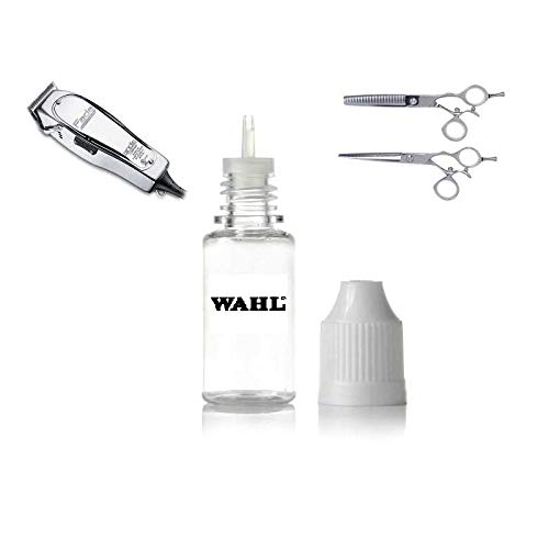 Wahl Hair Clipper Oil Hair Whal Clippers Oil Trimmer Oil Fluid Barbers Barber Shop Hair Dressers Stylist Cutters Scissors Blades Lubricant Lubrication Sharpening Oil Beard Nose Tash Moustache Moustash Hair Grooming Whal Wall Crew Cut Afro Cut For Wahl Phil