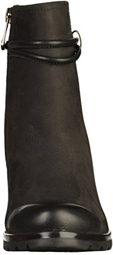 Mujer Caño Botines Bajo negro Tozzi Marco De Negro qXzppR