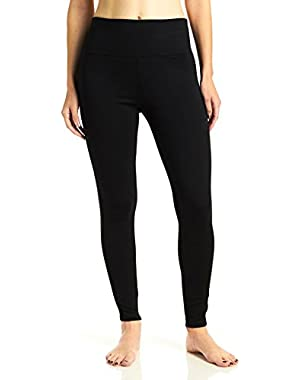 Calvin Klein Performance Women's High Waist Compressed Debossed Scuba Side Pants