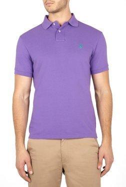 661e5c5f Ralph Lauren Polo Custom Fit Mens Lilac Polo Shirt (Large): Amazon.co.uk:  Clothing