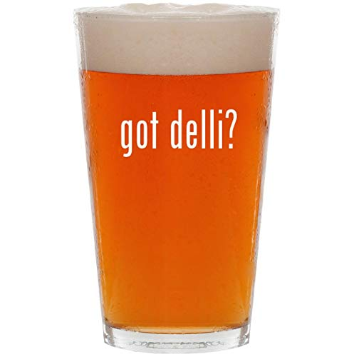 got delli? - 16oz All Purpose Pint Beer Glass