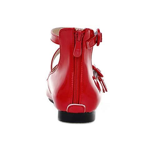 Zeppa 35 Sandali con Donna Rosso AN Red DGU00601 T8wqCttxp