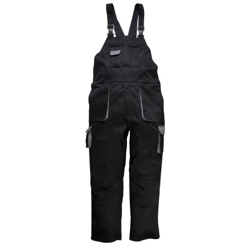 Portwest Contrast Bib & Brace / Workwear