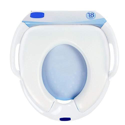 HAHABABY Aseo Escalera Asiento Escalera del tocador para WC Orinal Formación Baño Reductor WC niños,White: Amazon.es: Deportes y aire libre