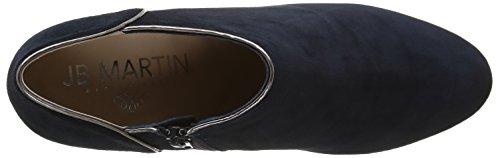 Jb Martin 2 Selma H16, Zapatillas de Estar por Casa para Mujer Bleu (Che Vel Nuit/T Specchio Acier)