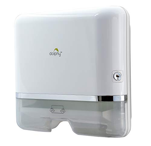 Dolphy Multifold Mini Hand Towel Paper Dispenser White 4