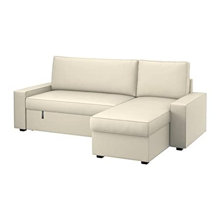 Remarkable Ikea Vilasund Cover Sofa Bed With Chaise Longue Inzonedesignstudio Interior Chair Design Inzonedesignstudiocom