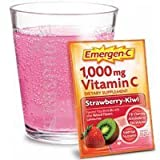 Emergen-C, Strawberry-Kiwi, 30 Count , Pack of 4