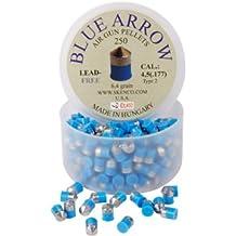 Skenco Blue Arrow .177 Cal, 6.4 Grains, Pointed, Lead-Free, 250ct