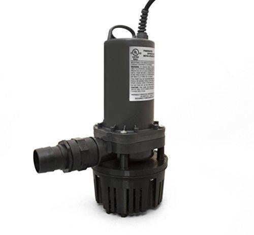 (Danner Manufacturing, Inc. Pool-Care, Main Drain Pool Utility Pump, 5400GPH, #20370)