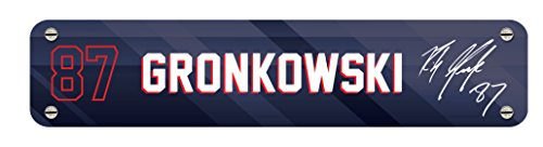 Signature Nameplate (NFL Kan Jam Gronk Name Plate - Digital Signature)