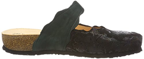 Think Sz Kombi 383345 Julia Clogs 09 Schwarz Women's Fqr8F