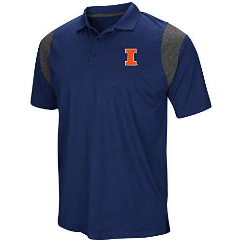 University of Illinois Men's Polo Short Sleeve Polo Shirt ()