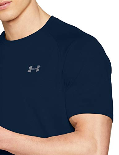Under Armour Men's Tech 2.0 Short Sleeve T-Shirt, Academy (408)/Graphite, 3X-Large by Under Armour (Image #10)
