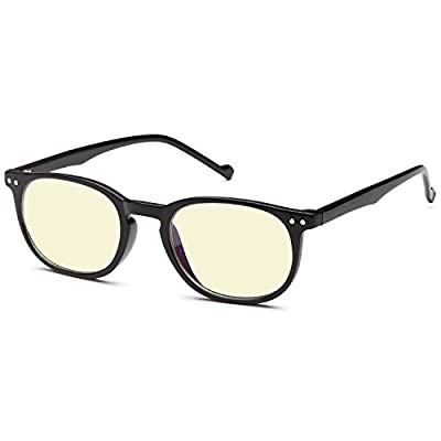 GAMMA RAY FLEXLITE GR004-C1 Computer Reading Glasses in Ergonomic Memory Flex Frame with UV Protection, Anti Blue Rays, Anti Glare and Scratch Resistant Lens in 53-16-137 Size with Optional +1.25 to +3.00 Power (+3.00) ...