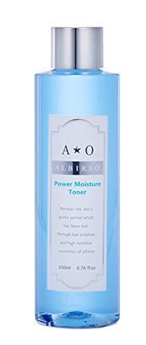 Power Moisture Facial Toner Moisturizer | Hydrating Korean Cosmetics for Sensitive and Dry Skin | 6.76 fl.oz
