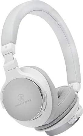 Audio-Technica ATH-SR5BT - Auriculares (Inalámbrico y alámbrico, Diadema, Binaural, Circumaural, 5-40000 Hz, Blanco): Amazon.es: Electrónica