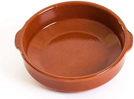 Terrissaires - Cazuela (20 cm de diámetro), color terracota ...