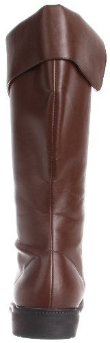 Pleaser pirata Costume da moschettiere brown pu
