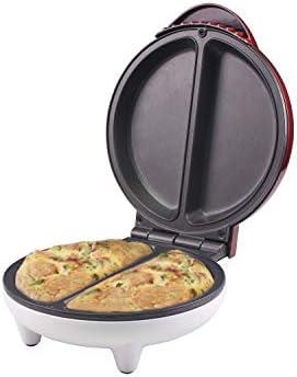 Beper Plaque pour omelette en aluminium antiadh/ésif Rouge