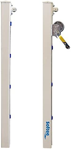 Blanco S Softee Equipment 0012353 Juego Postes Fijos