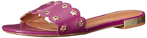 de sandalia cuero Frogprince Purple West Nine Ufqw87tt