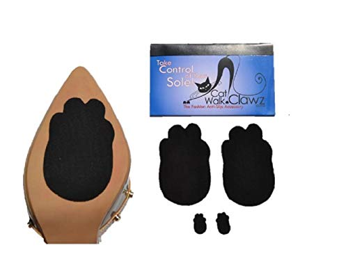 - Catwalk Clawz The Anti-Slip Grip Accessory Non Slip Pads for Bottom of Shoes Black
