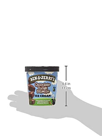 Ben & Jerrys Chocolate Fudge Brownie Helado 500 ml: Amazon.es: Alimentación y bebidas