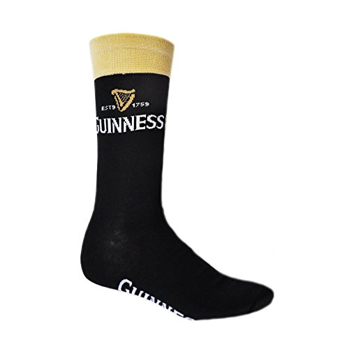 Black And Beige Guinness Socks