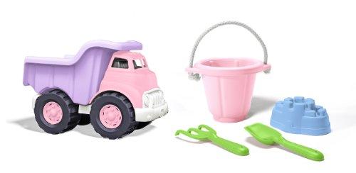 Green Toys Pink Sand Box Bundle
