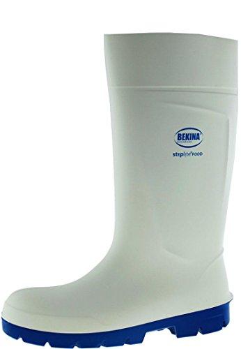 Bekina - Calzado de protección para hombre blanco - blanco