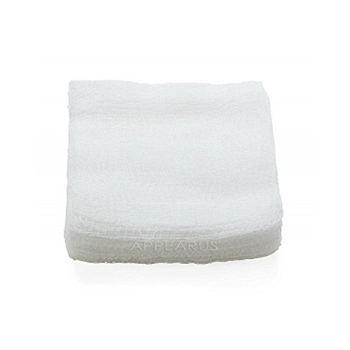 4x4 100% Cotton Esthetic Gauze Pads (200 Count) by Dukal