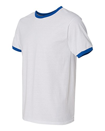Gildan DryBlend® 5.6 oz. Ringer T-Shirt, Small, (Wholesale Ringer T-shirts)