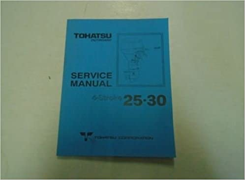tohatsu technical manual