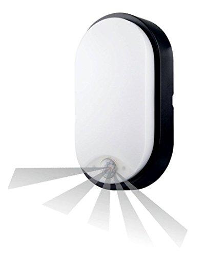 IP54 14 Watt LED Kellerleuchte Außenleuchte Gartenleuchte PIR-Bewegungsmelder [Energieklasse A] Unbekannt