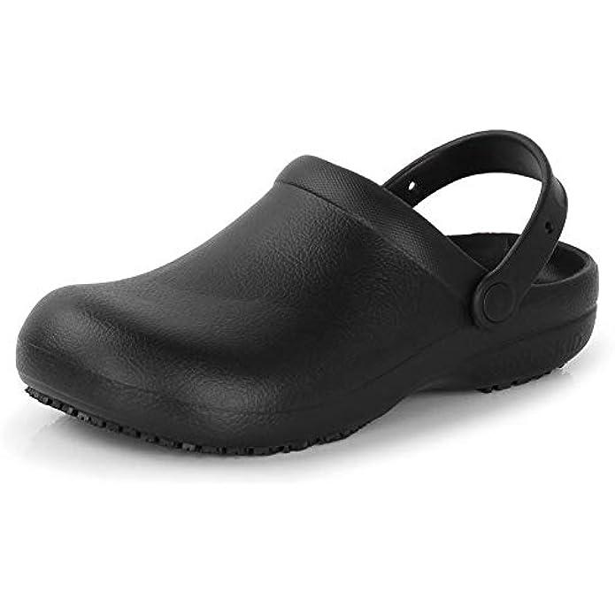 Men Women Slip Resistant Specialist Chef Clogs Mulitfunctional Restaurant Kitchen Garden Safety Work Medical Shoes