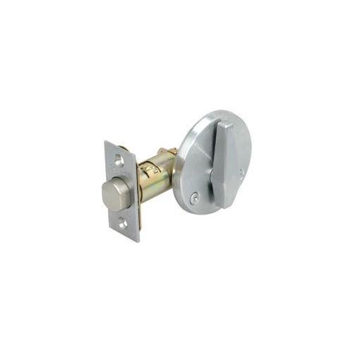 Schlage B580-626 Grade 2 Deadbolt-Door Bolt, 626 - Satin Chrome, Adjustable 2-3/8 Or 2-3/4