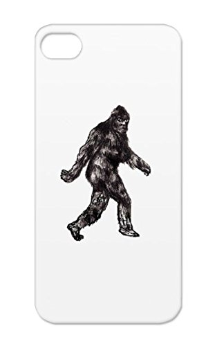 The Rocky Mountains Bigfoot Washington Art Design Miscellaneous Sasquatch Oregon Alien Hillbilly Monster Legend Of Bigfoot Science Fiction Black BIGFOOT Case For Iphone 5
