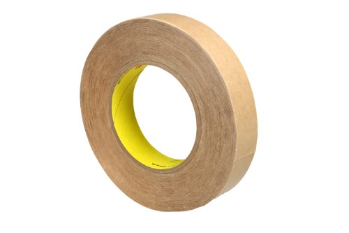 3M Double Coated Tape 9576 Clear Kut, 1 in x 60 yd 4.0 mil (Case of 36) by 3M